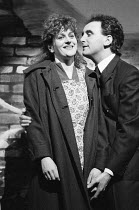 BLOOD BROTHERS book, music & lyrics by Willy Russell design: Andy Greenfield lighting: Jimmy Simmons directed by Chris Bond & Danny Hiller  Barbara Dickson (Mrs Johnstone / Mother), Peter Christian (...