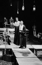 THE CRUCIBLE by Arthur Miller design: Bob Crowley lighting: Michael Calf directors: Barry Kyle & Nick Hamm   centre: Ron Cook (Reverend John Hale), Alun Armstrong (John Proctor) Royal Shakespeare Co...