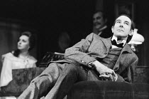 SHERLOCK HOLMES by Arthur Conan Doyle & William Gillette design: Carl Toms director: Frank Dunlop  John Wood (Sherlock Holmes) Royal Shakespeare Company (RSC), Aldwych Theatre, London WC2 1973 (c) D...