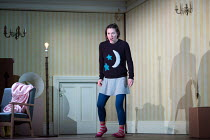 Mary Bevan (Coraline) in the world premiere of CORALINE opening at the Barbican Theatre, London EC2 on 29/03/2018  a Royal Opera production music: Mark-Anthony Turnage libretto: Rory Mullarkey after...