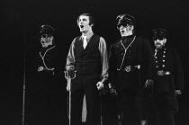 THE THREEPENNY OPERA text: Brecht translation: Hugh MacDiarmid music: Weill after Gay set design: Patrick Robertson costumes: Rosemary Vercoe lighting: Richard Pilbrow choreography: Eleanor Fazan dire...