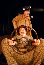MR. PUNTILA AND HIS MAN MATTI by Bertolt Brecht in a new version by Lee Hall set design: Tim Hatley costumes: Johanna Cole lighting: Wolfgang Gobbel director: Kathryn Hunter   front: Sean Foley (Matti...