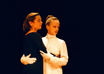 MORE STATELY MANSIONS by Eugene O'Neill design: Jan Versweyveld director: Ivo van Hove l-r: Jenny Bacon (Sara Harford), Joan MacIntosh (Deborah Harford)  ** larger file with improved colour balance av...