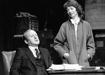 INADMISSIBLE EVIDENCE by John Osborne design: John Gunter lighting: Jack Raby director: John Osborne ~Nicol Williamson (Bill Maitland), Elizabeth Bell (Liz)Royal Court Theatre, London SW1 12/08/1978(c...