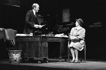 INADMISSIBLE EVIDENCE by John Osborne design: John Gunter lighting: Jack Raby director: John Osborne ~Nicol Williamson (Bill Maitland), Marjorie Yates (Mrs Garnsey)Royal Court Theatre, London SW1 12/0...