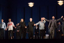 LESSONS IN LOVE AND VIOLENCE music and conductor: George Benjamin text: Martin Crimp design: Vicki Mortimer lighting: James Farncombe movement director and associate director: Joseph Alford director:...