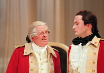 THE RIVALS by Richard Brinsley Sheridan design: Ashley Martin-Davis lighting: Wolfgang Gobbel fights: Terry King movement: Jane Gibson director: Lindsay Posner  l-r: Benjamin Whitrow (Sir Anthony Abs...