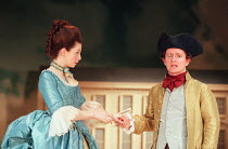 THE RIVALS by Richard Brinsley Sheridan design: Ashley Martin-Davis lighting: Wolfgang Gobbel fights: Terry King movement: Jane Gibson director: Lindsay Posner  Jacqueline Defferary (Julia Melville),...