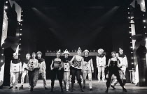 OH WHAT A LOVELY WAR devised by Joan Littlewood (original production in 1963) design: Una Collins choreography: Bob Stevenson director: Kevin Palmer  the company Theatre Royal Stratford East, London...