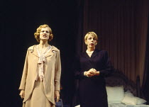 THREE TALL WOMEN by Edward Albee set design: Carl Toms costumes: Tom Rand lighting: Jenny Cane director: Anthony Page ~~l-r: Anastasia Hille, Frances de la Tour~Wyndham's Theatre, London WC2 28/10/199...