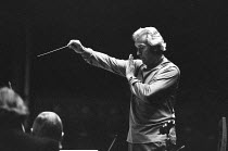 Rudolf Kempe (German conductor - 1910-1976) rehearsing the Munich Symphony Orchestra ~BBC Prom, Royal Albert Hall, London 09/1972(c) Donald Cooper/Photostage photos@photostage.co.uk ref/BW-192-15