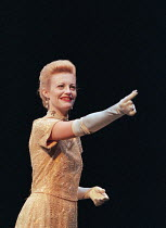 THE DUCHESS OF MALFI by John Webster design: Nick Ormerod director: Declan Donnellan ~Anastasia Hille (The Duchess of Malfi)Cheek by Jowl / Wyndham's Theatre, London WC2 02/01/1996(c) Donald Cooper/Ph...