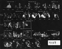 OLD TIMES by Harold Pinter set design & lighting: John Bury  costumes: Beatrice Dawson director: Peter Hall   Dorothy Tutin (Kate), Colin Blakely (Deeley), Vivien Merchant (Anna) Royal Shakespeare Co...
