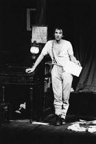 WILD HONEY by Chekhov in a version by Michael Frayn set design: John Gunter costumes: Deirdre Clancy lighting: Robert Bryan director: Christopher Morahan  Ian McKellen (Platonov) Olivier Theatre / Na...