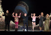 SALOME by Richard Strauss after Oscar Wilde conductor: Martyn Brabbins design: Marg Horwell lighting: Lucy Carter choreographer: Melanie Lane director: Adena Jacobs  curtain call after the dress rehe...