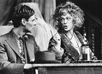 VIEUX CARRE by Tennessee Williams set design: Voytek costumes: Maria Bjornson lighting: Nick Chelton director: Keith Hack  Karl Johnson (The Writer), Sylvia Miles (Mrs Wire) a Nottingham Playhouse pr...