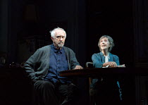 THE HEIGHT OF THE STORM by Florian Zeller translated by Christopher Hampton design: Anthony Ward lighting: Hugh Vanstone director: Jonathan Kent   Jonathan Pryce (Andre), Eileen Atkins (Madeleine) Wy...
