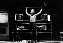 THE SUMMER PARTY by Stephen Poliakoff design: Roger Glossop lighting: Peter Barham director: Peter James  Dexter Fletcher (David) Crucible Theatre, Sheffield, England 13/03/1980 (c) Donald Cooper/Pho...