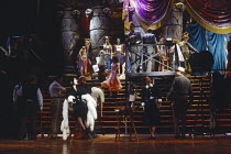 SUNSET BOULEVARD music: Andrew Lloyd Webber book & lyrics: Don Black & Christopher Hampton based on the film by Billy Wider set design: John Napier costumes: Anthony Powell lighting: Andrew Bridge mus...