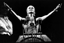 EVITA music: Andrew Lloyd Webber lyrics: Tim Rice design: Tim O'Brien & Tazeena Firth choreography: Larry Fuller director: Harold Prince ~Elaine Paige (Eva)~Prince Edward Theatre, London W1 21/06/1978...
