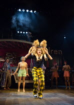 WISE CHILDREN by Angela Carter adapted & directed by Emma Rice design: Vicki Mortimer lighting: Malcolm Rippeth choreography: Etta Murfitt  Sam Archer (Young Peregrine) Old Vic Theatre, London SE1 17...