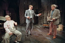 MR PETERS' CONNECTIONS by Arthur Miller set design: Peter J. Davison costumes: Nadine Schofield & Peter J. Davison lighting: Mark Henderson director: Michael Blakemore <br>l-r: Nicholas Woodeson (Calv...
