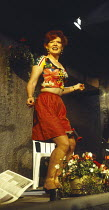 BEAUTIFUL THING by Jonathan Harvey design: Robin Don lighting: Johanna Town director: Hettie Macdonald <br>Patricia Kerrigan (Sandra)Bush Theatre, London W12 28/07/1993 (c) Donald Cooper/Photostage ph...