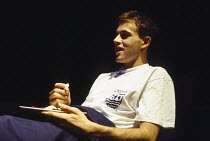 BEAUTIFUL THING by Jonathan Harvey design: Robin Don lighting: Johanna Town director: Hettie Macdonald <br>Jonny Lee Miller (Ste)Bush Theatre, London W12 28/07/1993 (c) Donald Cooper/Photostage photos...