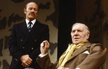 EARLY DAYS by David Storey design: Jocelyn Herbert lighting: Nick Chelton director: Lindsay Anderson <br>l-r: Norman Jones (Bristol), Ralph Richardson (Kitchen) Cottesloe Theatre, National Theatre (NT...