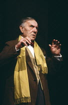 EARLY DAYS by David Storey design: Jocelyn Herbert lighting: Nick Chelton director: Lindsay Anderson <br>Ralph Richardson (Kitchen) Cottesloe Theatre, National Theatre (NT), London SE1 22/04/1980 (c)...