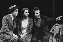 TALES FROM THE VIENNA WOODS by Odon von Horvath translated by Christopher Hampton design: Timothy O'Brien & Tazeena Firth lighting: David Hersey director: Maximilian Schell <br> l-r: Stephen Rea (Alfr...