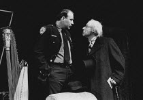 THE PRICE by Arthur Miller design: Bernard Culshaw director: Anthony Cornish <br>l-r: Malcolm Rennie (Victor Franz), Martin Friend (Gregory Solomon) Shaw Theatre, London NW1 20/10/1980 (c) Donald Coop...