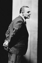 PRAVDA written & directed by David Hare set design: Hayden Griffin costumes: Lindy Hemming <br>Anthony Hopkins (Lambert le Roux)Olivier Theatre, National Theatre (NT), London SE1 02/05/1985(c) Donald...
