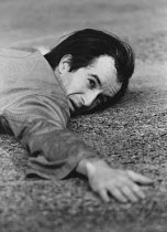 ARTAUD AT RODEZ written & directed by Charles Marowitz <br> Clive Merrison (Antonin Artaud) Open Space Theatre, London NW1 12/1975 (c) Donald Cooper/Photostage photos@photostage.co.uk ref/BW-P-275-18