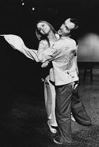 ARTAUD AT RODEZ written & directed by Charles Marowitz <br> Linda Hayden, Clive Merrison (Antonin Artaud) Open Space Theatre, London NW1 12/1975 (c) Donald Cooper/Photostage photos@photostage.co.uk re...