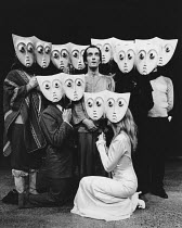 ARTAUD AT RODEZ written & directed by Charles Marowitz <br> Clive Merrison (Antonin Artaud) Open Space Theatre, London NW1 12/1975 (c) Donald Cooper/Photostage photos@photostage.co.uk ref/BW-P-282-4