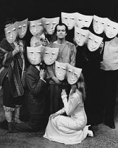 ARTAUD AT RODEZ written & directed by Charles Marowitz <br> Clive Merrison (Antonin Artaud) Open Space Theatre, London NW1 12/1975 (c) Donald Cooper/Photostage photos@photostage.co.uk ref/BW-P-282-6