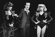CENSORED SCENES FROM KING KONG by Howard Schuman music: Andy Roberts director: Colin Bucksey <br> l-r: Mary Maddox, Clive Merrison, Little Nell Open Space Theatre, London W1 21/11/1977 (c) Donald Coop...