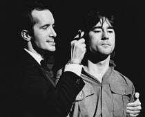 CENSORED SCENES FROM KING KONG by Howard Schuman music: Andy Roberts director: Colin Bucksey <br> l-r: Clive Merrison, Denis Lawson Open Space Theatre, London W1 21/11/1977 (c) Donald Cooper/Photostag...