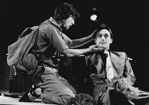 CENSORED SCENES FROM KING KONG by Howard Schuman music: Andy Roberts director: Colin Bucksey <br> l-r: Denis Lawson, Philip Sayer Open Space Theatre, London W1 21/11/1977 (c) Donald Cooper/Photostage...