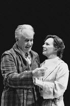 ALL MY SONS by Arthur Miller design: Fran Thompson lighting: Jim Simmons director: David Thacker <br> Ian Bannen (Joe Keller), Marjorie Yates (Kate Keller) Young Vic, London SE1 21/01/1992 (c) Donald...