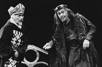 HENRY IV by Luigi Pirandello <br> right: Rex Harrison (Henry IV) Her Majesty's Theatre, Haymarket, London SW1 02/1974 (c) Donald Cooper/Photostage photos@photostage.co.uk ref/BW-P-040-16