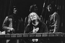 HENRY IV by Luigi Pirandello <br> Rex Harrison (Henry IV) Her Majesty's Theatre, Haymarket, London SW1 02/1974 (c) Donald Cooper/Photostage photos@photostage.co.uk ref/BW-P-041-34