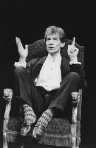 Ian McKellen in ACTING SHAKESPEARE at the Playhouse Theatre, London WC2 December 1987 <br> all proceeds in aid of the London Lighthouse Aids Hospice <br> (c) Donald Cooper/Photostage photos@photostage...