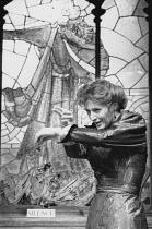 THE PHILANDERER by George Bernard Shaw set design: Tom Piper costumes: Isabella Bywater lighting: Mark Henderson director: Brian Cox <br>Eleanor David (Julia Craven) Hampstead Theatre, London NW3 19/1...