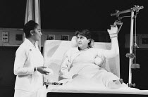 THE RIDE DOWN MT. MORGAN by Arthur Miller design: Tanya McCallin director: Michael Blakemore <br> Marsha Hunt (Nurse Hogan), Tom Conti (Lyman)Wyndham's Theatre, London WC2 31/10/1991(c) Donald Cooper/...