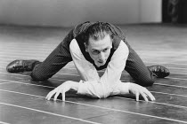 METAMORPHOSIS by Franz Kafka staged by Steven Berkoff <br>Tim Roth (Gregor) Mermaid Theatre, London EC4 07/1986 (c) Donald Cooper/Photostage photos@photostage.co.uk ref/BW-P-305-3
