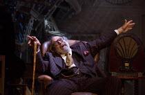 THE PRICE by Arthur Miller design: Simon Higlett lighting: Paul Pyant director: Jonathan Church <br> closing moments: David Suchet (Gregory Solomon) a Theatre Royal, Bath production / Wyndham's Theat...