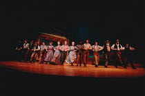 OKLAHOMA! music: Richard Rodgers book & lyrics: Oscar Hammerstein II design: Anthony Ward choreography: Susan Stroman lighting: David Hersey director: Trevor Nunn <br> company, ensemble, dancing Olivi...