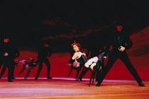 OKLAHOMA! music: Richard Rodgers book & lyrics: Oscar Hammerstein II design: Anthony Ward choreography: Susan Stroman lighting: David Hersey director: Trevor Nunn <br> Act 1 'Dream Sequence' Olivier...